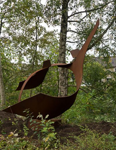 Wings of Trust, corten-staal, Hospice Apeldoorn