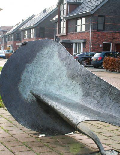 Chaise longue, 270 cm, 1997 Aangekocht: gemeente Stede Broec.