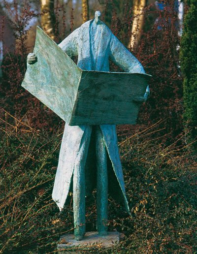Informatie, 110 cm, 1995. Opdracht en locatie: notariskantoor D. Hoorn, Oosterhesselen.